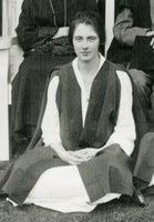 Cropped photograph of Daisy Ough from first class photograph