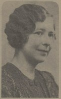 Cropped photograph of Marie Tarbet from first class photograph