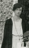 Photograph of Rhoda Bennett cropped from first student photograph.