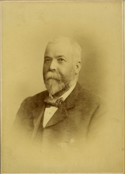 Sepia photograph of Duncan Henderson, reproduced by kind permission of Mrs Philippa Henwood.