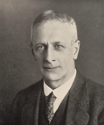 Photograph of F P Armitage c1927 by Ramsden, from p156 of Leicester: Civic, Industrial, Institutional, Social Life 1927.