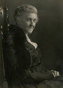 Black and white photograph of Lady Sarah Faire