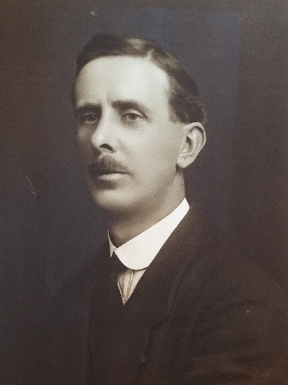 Black and white photograph of Thomas Hatton.