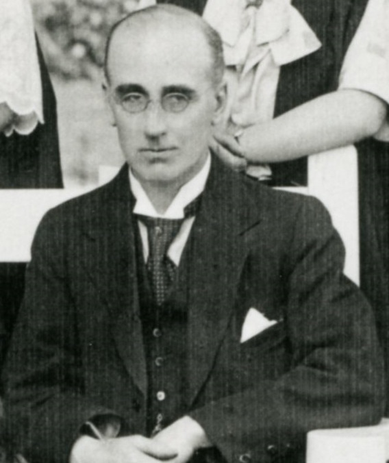 Photograph of Walter Gibbs, 1922, from the first class photo.