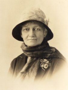 Photograph of Poppy Clarke, from the family archive of Mrs Caroline Wessel