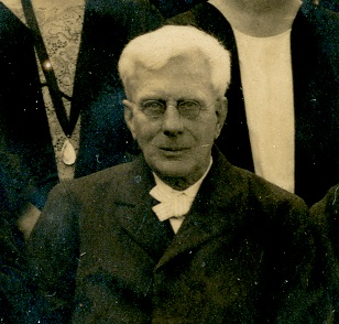 Black and white photograph of Frederick B Lott, 1923-24