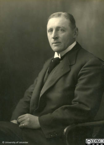 Black and white photograph of Dr Astley V Clarke, 1922.