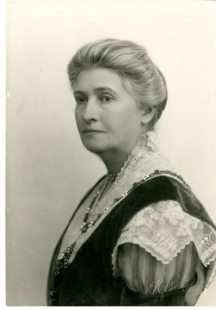 Black and white photograph of Lady North, taken in advance of the 1922 Bazaar and Fete programme booklet.