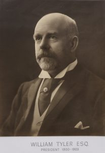 Photograph of William Tyler, courtesy of the Record Office for Leicestershire, Leicester and Rutland