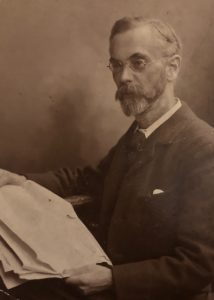 Sepia photograph of Joseph Wallis Goddard in later life, reproduced by kind permission of Michael Goddard