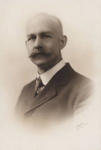 Photograph of William Evans, reproduced by kind permission of Leicester Literary and Philosophical Society