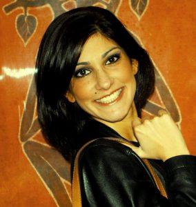 Colour photograph of Maria Chiara Scuderi