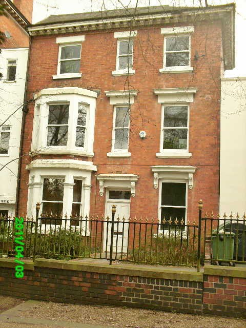 Photograph of 142 New Walk, Leicester