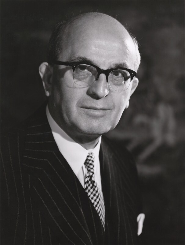 Photograph of Sir Cyril Osborne by Walter Bird (1962) bromide print, 24 January 1962 (National Portrait Gallery CC BY NC ND)