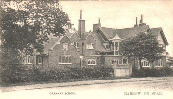Black and white photograph of Humphrey Perkins Grammar School